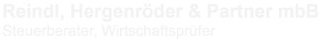 Reindl, Hergenröder & Partner mdB Logo